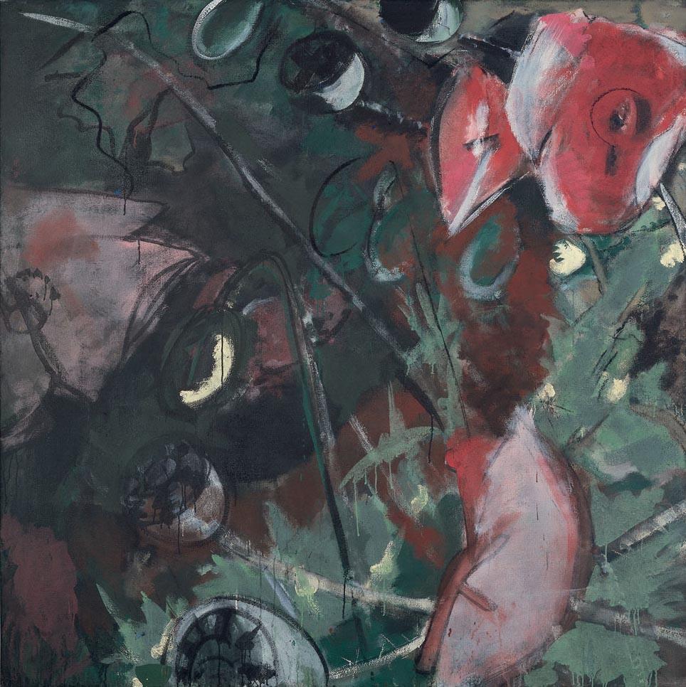 Knospen-Blüten-Kapseln I, 1976