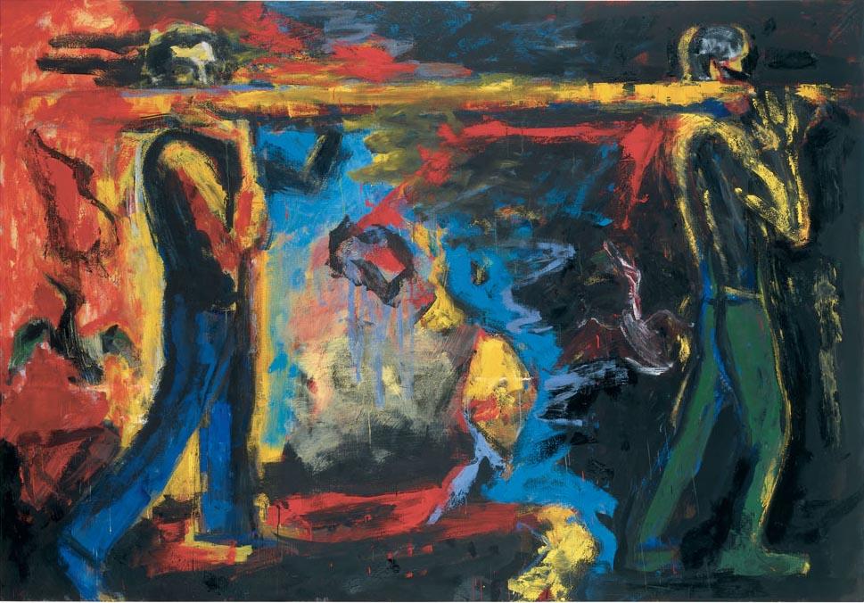 Einbruch der Nacht, 1984–85