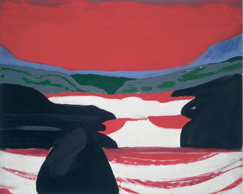 Roter Wasserfall, 1964