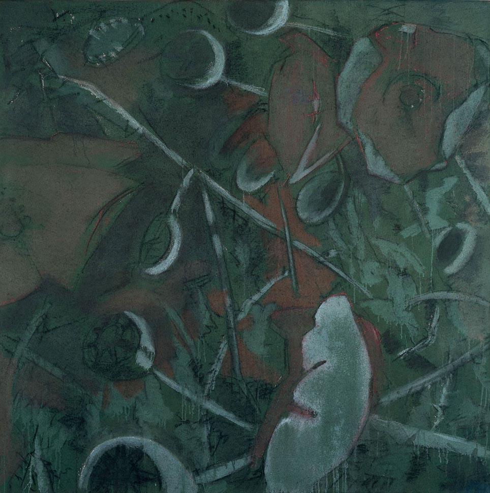 Knospen-Blüten-Kapseln II, 1976