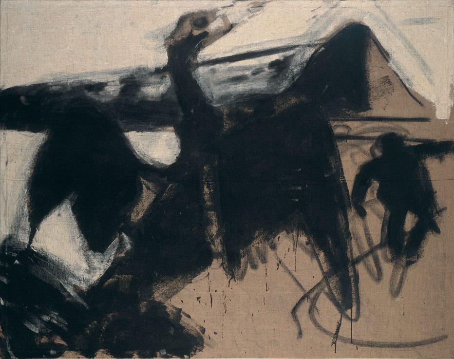 Im Zeichen des Kormoran II (Schwarzer Vogel), 1982