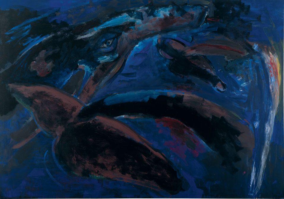 Springende Wale, 1984