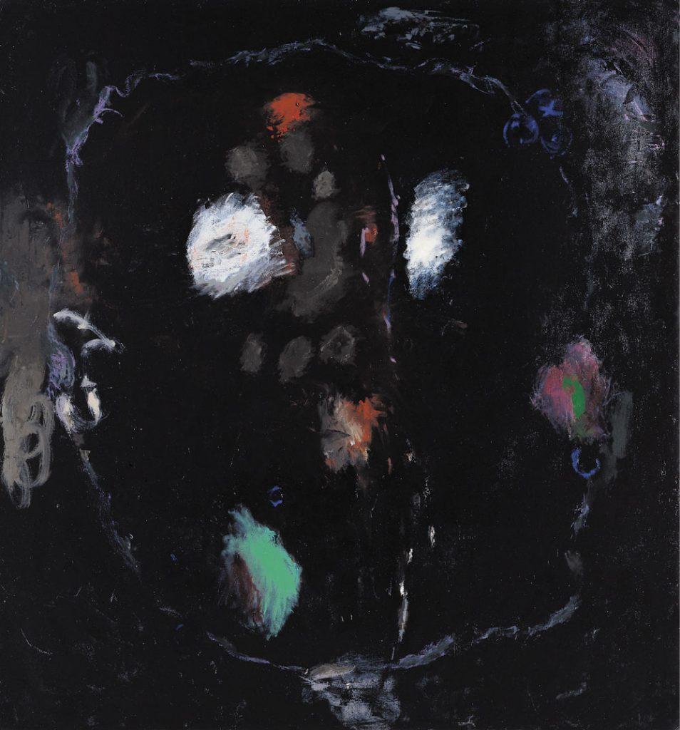 Schwarz VII - Blaubeeren, 1992