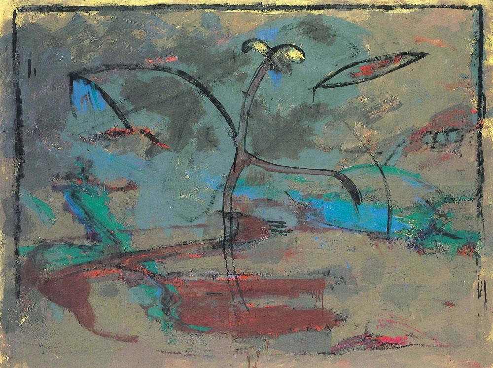 Blumenskelett 2, 1988