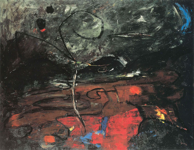 Blumenskelett 1, 19887