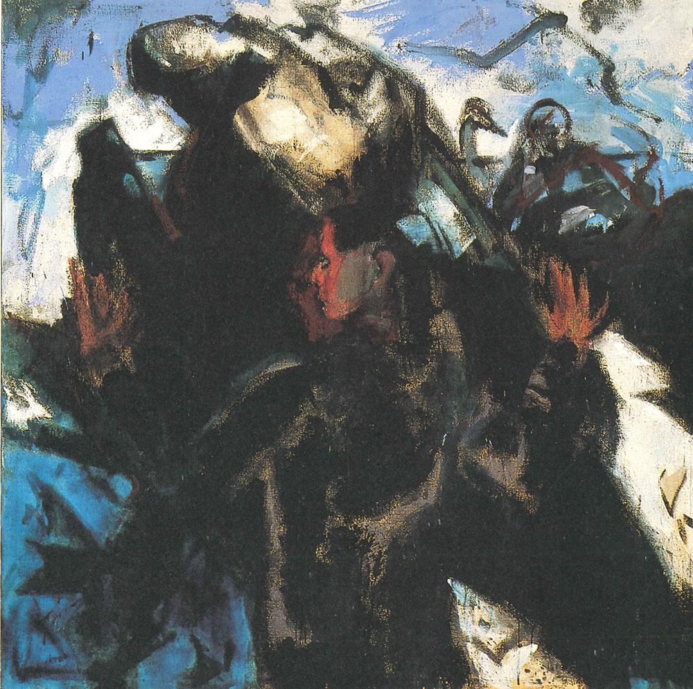 Frau im Stein, 1982